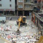 izmir bina yıkım hurda söküm