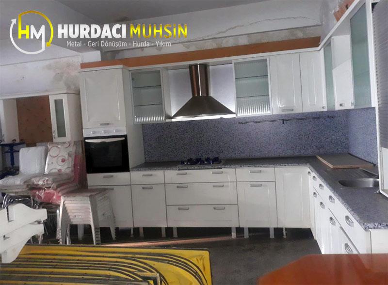 izmir satılık ikinci el mutfak dolabı mobilyası