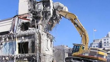 bina yıkım sonrası hurda sökümü